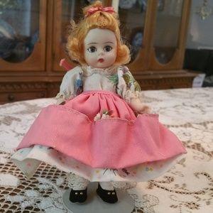 "Vintage Madame Alexander Mary Mary Doll 8"" 1960"